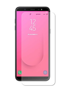 Аксессуар Защитная пленка Samsung Galaxy J8 2018 Red Line гибридная