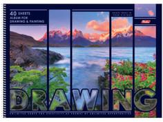 Альбом для рисования Hatber Природа А3 40 листов 40А3Всп_16840 A246351