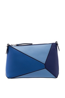 Кожаная сумка с геометрическим дизайном Loewe