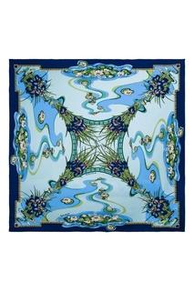 Шелковый платок с кувшинками Freywille