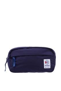Синяя текстильная сумка Reebok