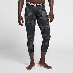 Мужские тайтсы для тренинга длиной 3/4 Nike Pro