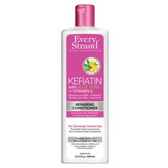 Кондиционер для волос EVERY STRAND с кератином, алоэ вера и витамином Е 399 мл