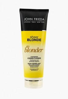 Кондиционер для волос John Frieda Sheer Blonde Go Blonder осветляющий для натуральных, мелированных и окрашенных, 250 мл