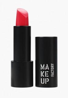 Помада Make Up Factory Устойчивая Magnetic Lips semi-mat&long-lasting т.343 Розовая фуксия