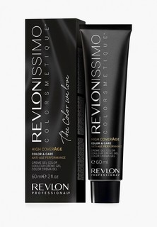 Краска для волос Revlon Professional REVLONISSIMO COLORSMETIQUE HIGH COVERAGE 6.34 60 мл