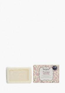 """Мыло Teana натуральное для проблемной и жирной кожи """"Розовая Мечта"""" с эфирным маслом розмарина, 100 г"""