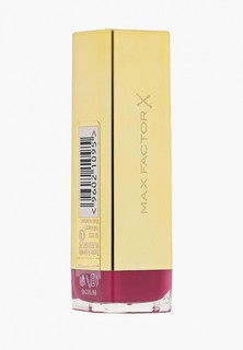 Помада Max Factor Colour Elixir Lipstick 665 тон pomegranate