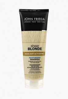 Шампунь John Frieda Sheer Blonde Увлажняющий активирующий для светлых волос, 250 мл