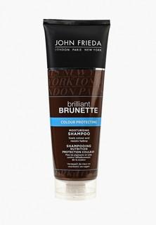 Шампунь John Frieda Brilliant Brunette COLOUR PROTECTING Увлажняющий для защиты цвета темных волос, 250 мл