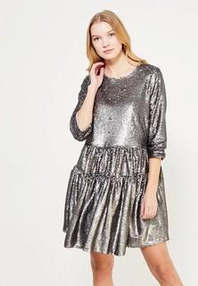 Платье LOST INK PLUS SMOCK DRESS IN SEQUINS