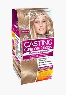 Краска для волос LOreal Paris LOreal Casting Creme Gloss, 910 Очень светло-русый пепельный