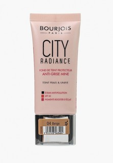 Тональное средство Bourjois City Radiance Тон 04 30 мл