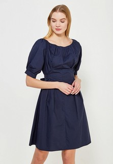 Платье LOST INK COTTON TIE FRONT FIT AND FLARE DRESS