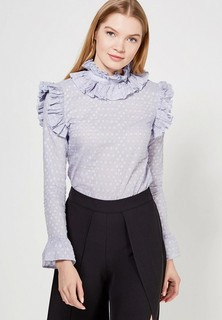 Блуза LOST INK RUFFLE NECK BLOUSE