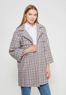 Пальто LOST INK BRIGHT WEAVE WAISTED COAT