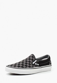Слипоны Vans U CLASSIC SLIP-ON Black/Pewter Ch