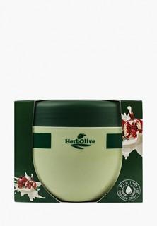 Масло для тела HerbOlive с йогуртом и экстрактом граната, 250 мл