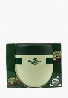 Масло для тела HerbOlive с экстрактом плодов рожкового дерева и шалфеем, 250 мл