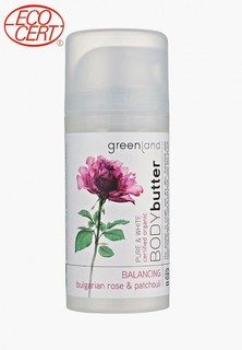 Крем для тела Greenland болгарская роза-пачули