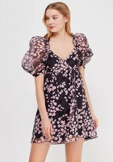 Платье LOST INK FLORAL ORGANZA SHIFT