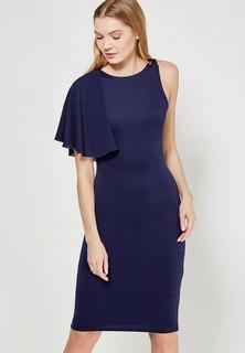 Платье LOST INK ONE SHOULDER FRILL BODYCON DRESS
