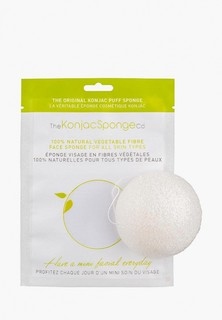 Спонж для очищения лица The Konjac Sponge Co Facial Puff Konjac Sponge Pure White