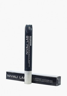 Гель для бровей Nivali с хной (черный)