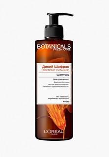 """Шампунь LOreal Paris LOreal """"Botanicals, Дикий Шафран"""", для сухих волос, питательный, без парабенов, силиконов и красителей, 400 мл"""