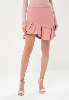 Юбка LOST INK ZX FLIPPY HEM MINI CO-ORD SKIRT