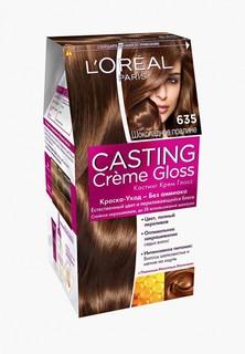 Краска для волос LOreal Paris LOreal Casting Creme Gloss, оттенок 635, Шоколадное пралине
