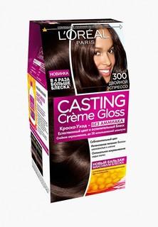 Краска для волос LOreal Paris LOreal Casting Creme Gloss 300 Двойной эспрессо