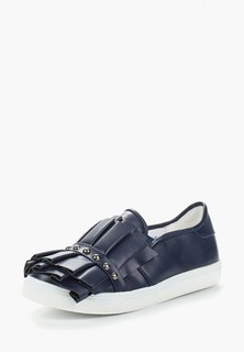 Слипоны LOST INK SARA RUFFLE AND STUD SLIP ON TRAINER