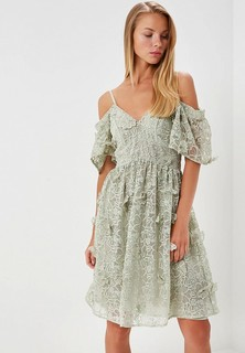 Платье LOST INK WARDROBE 3D APPLIQUE FLORAL DRESS