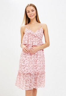 Платье LOST INK FLORAL ASSYMETRIC MIDI DRESS