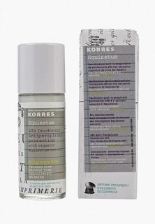 Дезодорант Korres антиперспирант с экстрактом хвоща интенсивная защита для чувствительной кожи 48 часов без отдушек 30 мл