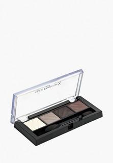 Набор для макияжа бровей Max Factor Тени для век и пудра для бровей mokey Eye Matte Drama Kit 2в1, Тон 30 smokey onyx