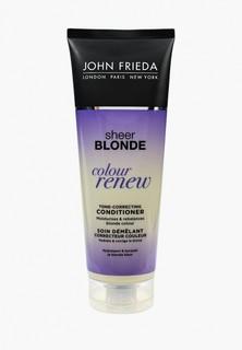 Кондиционер для волос John Frieda Sheer Blonde СOLOUR RENEW для восстановления и поддержания оттенка осветленных , 250 мл