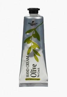 Крем для рук HerbOlive от растрескиваний с оливковым маслом и алоэ вера премиум, 75 мл
