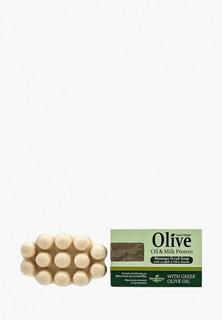 Мыло HerbOlive Массажное для пилинга с молочным протеином против целлюлита, 100 гр