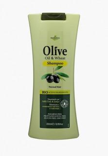 Шампунь HerbOlive для нормальных волос с пшеницей, 200 мл
