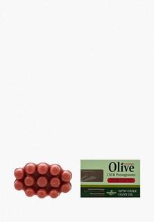 Мыло HerbOlive Массажное для пилинга, с экстрактом граната, против целлюлита, 100 гр