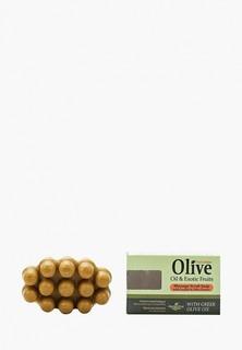 Мыло HerbOlive Массажное для пилинга, с экзотическими фруктами, против целлюлита, 100 гр