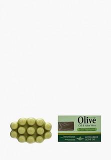 Мыло HerbOlive Массажное для пилинга, с алоэ-вера, против целлюлита, 100 гр