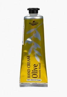 """Крем для рук HerbOlive """"Гладкие ручки"""" с оливковым маслом и медом премиум, 75 мл"""