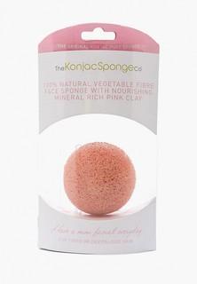 Спонж для очищения лица The Konjac Sponge Co