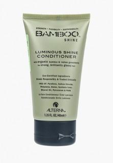 Кондиционер для волос Alterna Bamboo Luminous Shine Conditioner, сияние и блеск, 40 мл