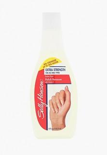 Средство для снятия лака Sally Hansen Супер-укрепляющее для всех типов ногтей extra strength for all nail types
