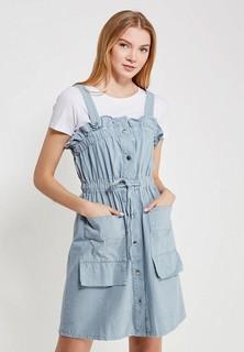 Платье джинсовое LOST INK PIKA TIE WAIST DENIM DRESS