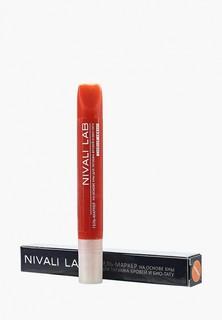 Гель для бровей Nivali с хной (оранжевый)